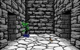 Willow for Amiga - Dungeon start.