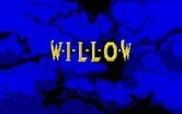 Willow for Atari ST - Game title; the letters slowly unfold...