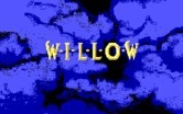 Willow for IBM PC/Compatibles - Game title; the words slowly unfold.