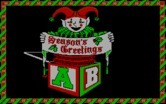 Jingle Disk for IBM PC/Compatibles screenshot thumbnail - Season's Greetings!