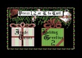 Jingle Disk for Commodore 64 screenshot thumbnail - The main menu.