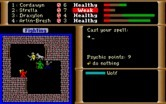 Dark Heart of Uukrul, The for IBM PC/Compatibles - Casting spells...