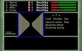 Dark Heart of Uukrul, The for IBM PC/Compatibles - Game start.