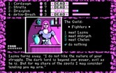 Dark Heart of Uukrul, The for IBM PC/Compatibles - Talking with fighters at the guild.