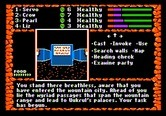 Dark Heart of Uukrul, The for Apple II - An inscription is ahead...