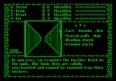 Dark Heart of Uukrul, The for Apple II - Game start.