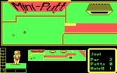 Mini-Putt for IBM PC/Compatibles - You need to time your shot with a moving gate on this hole.