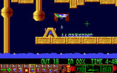 Lemmings for Amiga - Blockers make this level easier than it looks...