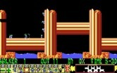 Lemmings for IBM PC/Compatibles - Climbers make their way up a wall.