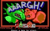 AAARGH! for IBM PC/Compatibles screenshot thumbnail - Title screen.