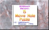 15 Move Hole Puzzle for IBM PC/Compatibles - About the game.