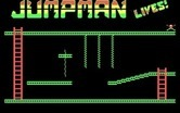 Jumpman Lives! for IBM PC/Compatibles - Title screen.