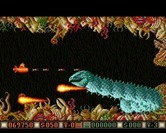 Blood Money for Amiga - The second end of level boss.