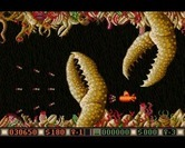 Blood Money for Amiga - Multiple claws attack at once...