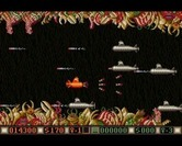 Blood Money for Amiga - Numerous submarines appear at once!