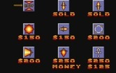 Blood Money for Atari ST - Here are the items you can purchase.