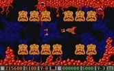 Blood Money for Atari ST - A wall of enemies closes in...