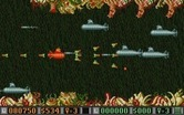 Blood Money for Atari ST - Numerous submarines appear at once; shoot them for money!