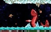 Blood Money for IBM PC/Compatibles - Giant serpents emerge from the icy waters!