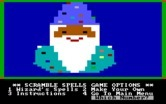 Magic Spells for IBM PC/Compatibles screenshot thumbnail - Scramble spells game menu.