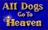 All Dogs Go to Heaven for Amiga - Title screen.
