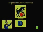 Alphabet Circus for IBM PC/Compatibles screenshot thumbnail - A donkey.