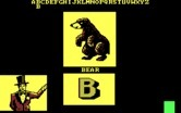 "Alphabet Circus for IBM PC/Compatibles screenshot thumbnail - ""B"" is for bear."