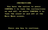 Alphabet Circus for IBM PC/Compatibles screenshot thumbnail - Game instructions.