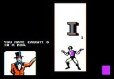 Alphabet Circus for Apple II screenshot thumbnail - Juggling letters in the air.