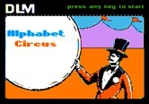 Alphabet Circus for Apple II - Title screen 1.