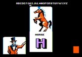 Alphabet Circus for Apple II screenshot thumbnail - Here is a horse...