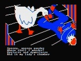 Hey Diddle Diddle for IBM PC/Compatibles screenshot thumbnail - Goosey, goosey gander...