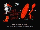 Hey Diddle Diddle for IBM PC/Compatibles screenshot thumbnail - Title screen.