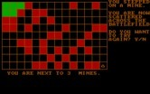 Landmine for IBM PC/Compatibles - The game can be challenging with 40 mines in the field.