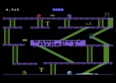 Miner 2049er for Atari 8-bit - Game over.