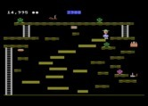 Miner 2049er for Atari 8-bit - Lots of little platforms. Don't fall!