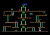 Miner 2049er for Atari 5200 - Use the teleporters to reach different platforms.