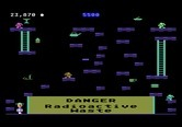 Miner 2049er for Atari 5200 - Don't touch the radioactive waste!