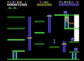 Miner 2049er for ColecoVision - 150 points for picking up an item, now quickly destory the mutants!