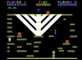 Miner 2049er for ColecoVision - Level 5 start.