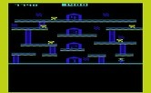 Miner 2049er for Commodore VIC-20 - This mine features some elevators.