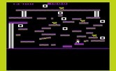 Miner 2049er for Commodore VIC-20 - This mine features lots of little platforms to jump on.