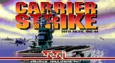 Carrier Strike: South Pacific 1942-44 for IBM PC/Compatibles - Title screen.