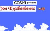 Manfred von Krashenbern's Flying Circus for IBM PC/Compatibles - The title screen is flown in piece by piece.