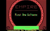 Empire! for IBM PC/Compatibles - Title screen.