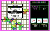 KaleidoKubes for IBM PC/Compatibles - You can choose the type of background music you would like.