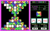 KaleidoKubes for IBM PC/Compatibles - The game becomes more difficult as the board is filled.