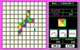 KaleidoKubes for IBM PC/Compatibles - Beginning a game on a simple board.