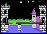 Dragonfire for ColecoVision screenshot thumbnail - On more difficult levels the drawbridge opens and closes.
