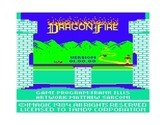 Dragonfire for TRS-80 Color Computer screenshot thumbnail - Title screen.